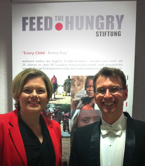 "Julia Klöckner Wolfgang Niess ""feed the hungry"""